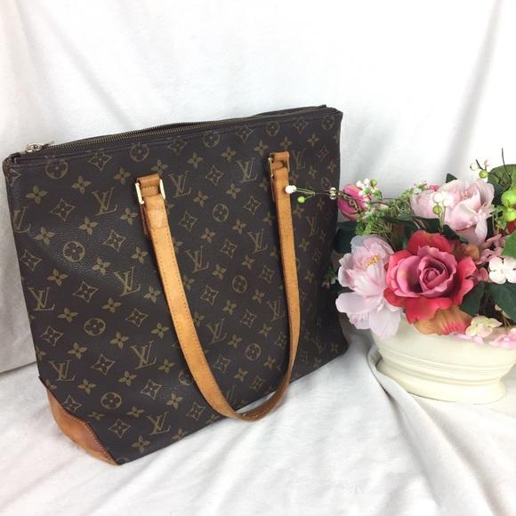 af6205ec43a5 Louis Vuitton Handbags - Authentic Vintage Louis Vuitton Cabas Mezzo Tote